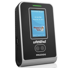 uAttend MN2000 Web-Based Time Clock Terminal